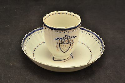 18th Century Chinese Export armorial ware cup & saucer    ND2608