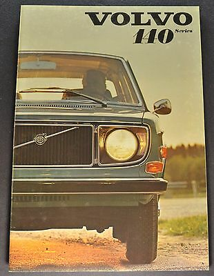 1971 Volvo 140 Catalog Sales Brochure 142 144 145 Wagon Excellent Original 71