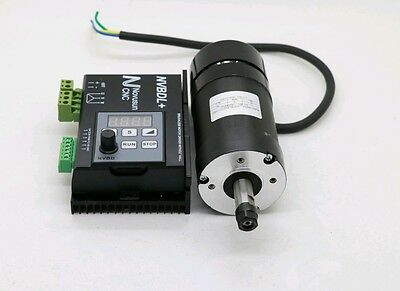 NVBDL+ 600W Brushless DC Motor Driver + ER8 CNC Machine 400W BL Spindle Motor