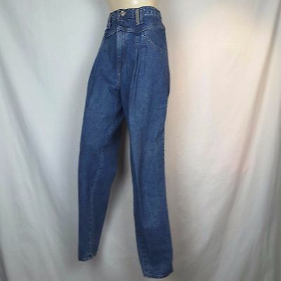 Vtg 80s Levis 900 Series SZ 12 High Yoke Waist Pleated Tapered MOM Jeans 30x31""
