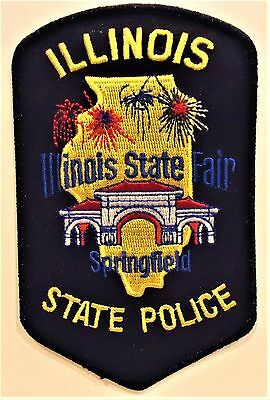 "Illinois State Police "" Illinois State Fair"" Patch"
