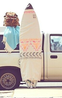Free People Limited Edition Surfboard Canvas Bag Chapman at Sea Retails $228.00