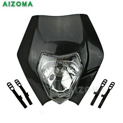Street Fighter Dual Light Headlight Headlamp Fairing For KTM SX EXC XCF SXF SMR