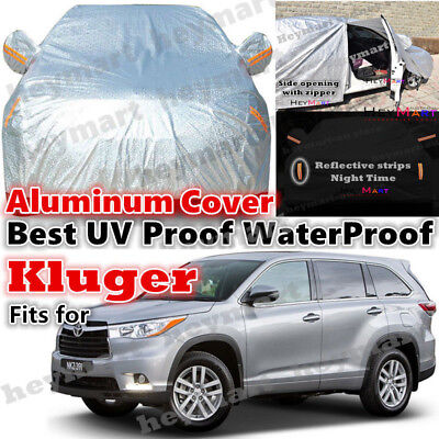 Toyota Kluger car cover waterproof rain resistant dust UV protect auto car cover