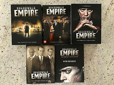 Boardwalk Empire DVD - The complete series - seasons 1 to 5