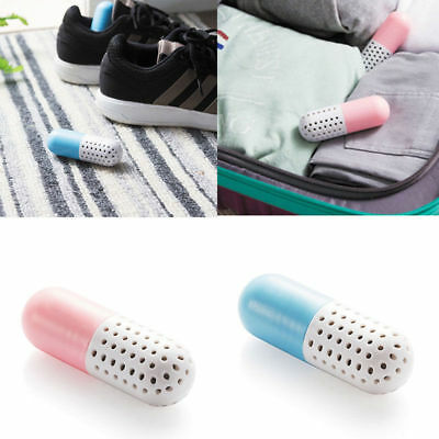 2Pcs Shoes Smell Remover Deodorizer Steriliser Odor Germs Eliminator Capsule