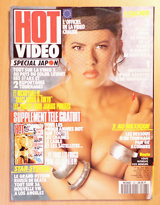 Hot Video N° 43 / French Magazine Revue Erotic / Beata , Traci Lords
