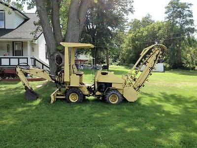 1976 New Holland T-550 Trenchers