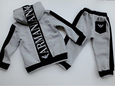NEW!Boys hooded THIN SET 2 pcs tracksuit clothing set outfit 2-6 years