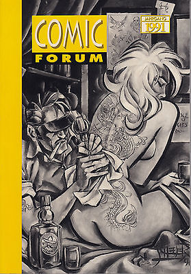 Comic Forum Annual 1991 Hefte 51-54  Betty Page, Rocketeer