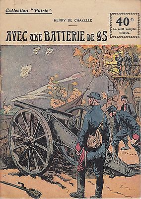 Collection Patrie Avec une Batterie de 95 F. Rouff Editeur Paris