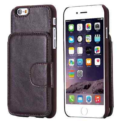 Business Man Classic Style Folded Wallet Leather Phone Case for Apple iPhone 66S