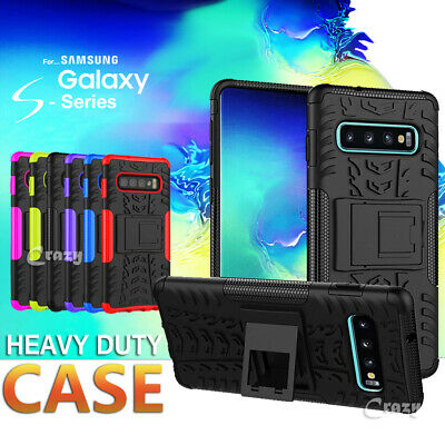 Tough Heavy Duty Shockproof Case Cover For Samsung Galaxy S10e S10 S9 S8 Plus