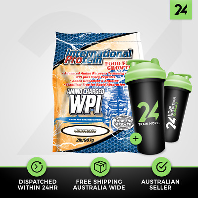 International Protein Amino Charged WPI | Whey Protein Isolate | Free Gift!