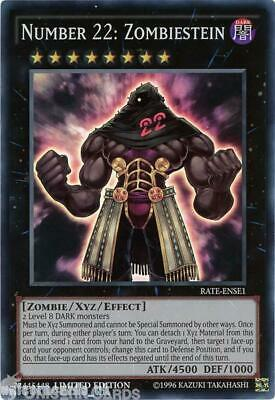 RATE-ENSE1 Number 22: Zombiestein Super Rare Limited Edition Mint YuGiOh Card