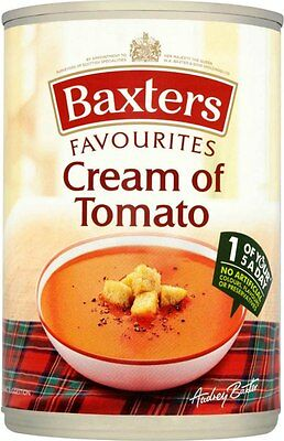 Baxters Favourites Cream of Tomato Soup (6x400g)
