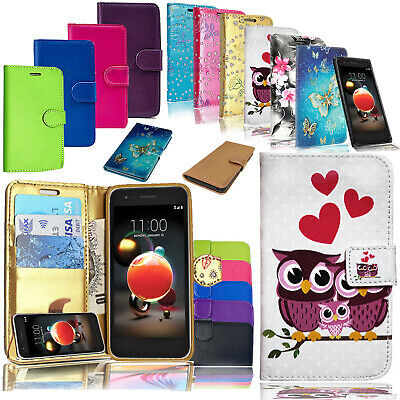 Premium Leather Wallet Stand Case Cover For Various Phone With Free Stylus