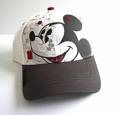 Disney Mickey Mouse Baseball Comic White Youth Boys Boy Hat Cap