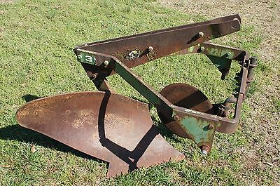 John Deere JD No. 30 1 Bottom Breaking Plow 950 1050 Cat 1 3pt Hitch