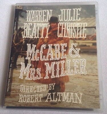 McCabe & Mrs. Miller Blu-ray 1971/2016 Criterion Collection Robert Altman