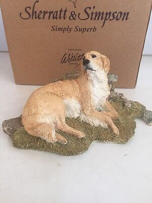 Sherratt & Simpson GOLDEN RETRIEVER Figurine #89042 ~NEW~