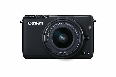 Canon EOS M10 Mirrorless Camera Kit with EF-M 15-45mm Image Stabilization STM Le