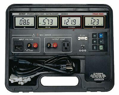 Extech Instruments 380803 True RMS Power Analyzer/Appliance Tester and Datalogge