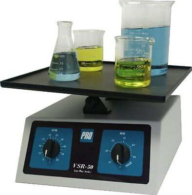 """PRO Scientific PRO-512000-00 VSR-50 Variable Speed Rocker with 12"""" x 14"""" Table,"""