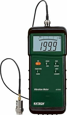 Brand New Extech Instruments 407860 Heavy Duty Vibration Meter