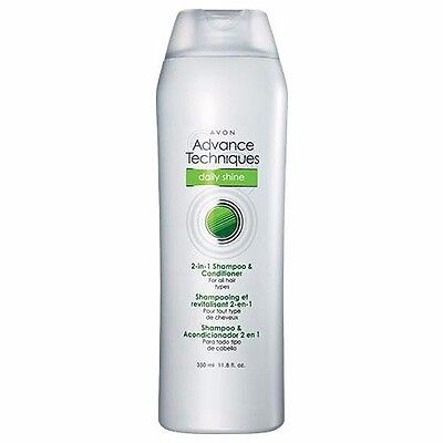 Avon Advance Techniques Daily Shine 2-in-1 Shampoo & Conditioner