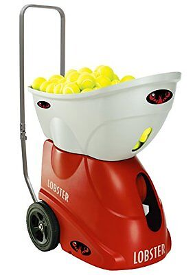 New Lobster Sports Elite Freedom Portable Tennis Ball Machine (21x14x 20- Inch)