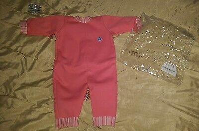 BNiP Splash About candy pink wetsuit warm swimming suit 12-18 months, size M