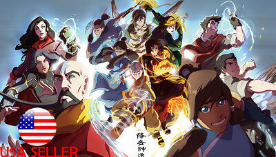 "Legend of Avatar Korra Airbender 42"" x 24"" Large Wall Poster Print Anime NEW #38"