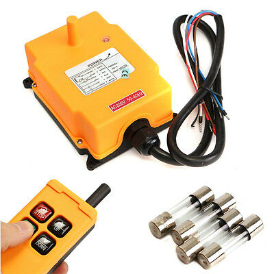 220VAC HS-4 Crane Remote Control Button Switch System