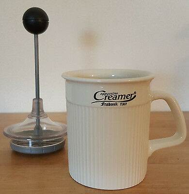 Frabosk Cappuccino Creamer - Porcelain Frother Made In Italy