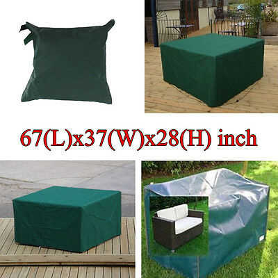 170x94x71cm Garden Outdoor Furniture Waterproof Breathable Dust Cover Table Shel