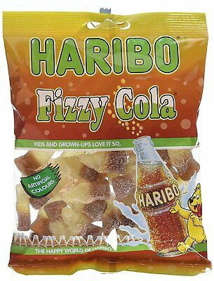Haribo Fizzy Cola 160G Traditional Sweets