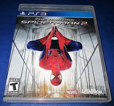 The Amazing Spider-Man 2 Sony PlayStation 3 *Factory Sealed! Free Shipping!
