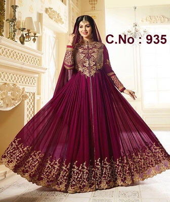 Indian Bollywood Designer Ethnic Party Wear Salwar Kameez Pakistani Latest Suit
