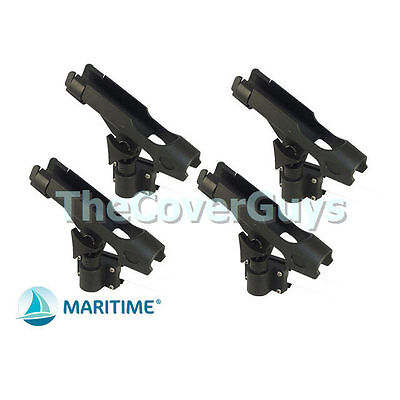 Boat and Kayak Rod Holder with Rail and flush Mounts FREE Postage x 4