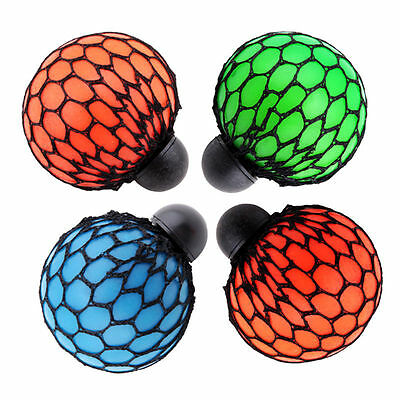 FI  Hot Anti Stress Face Reliever Grape Ball Autism Mood Squeeze Relief ADHD Toy