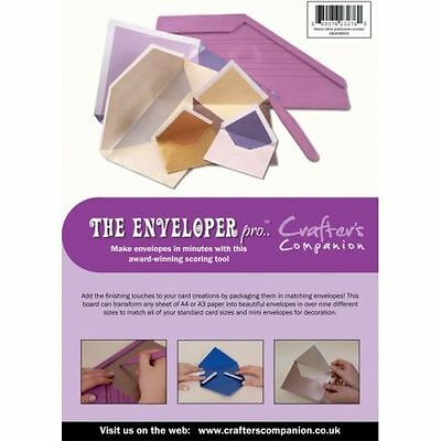Crafters Companion ENVELOPER PRO - Embossing Board - Envelope Maker