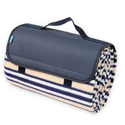 Yodo Large Picnic Blanket Waterproof with Soft and Warm Fleece for Outdoor...