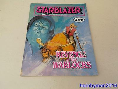 Starblazer Comic No.241 Revenge of the Warlocks