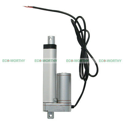 100mm 4 in 12V Linear Actuator Motor Heavy Duty 1500N/330lbs for Medical