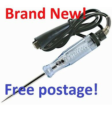 Heavy Duty 6-12V Automotive Electrical Circuit Tester Test Lamp, Probe Light