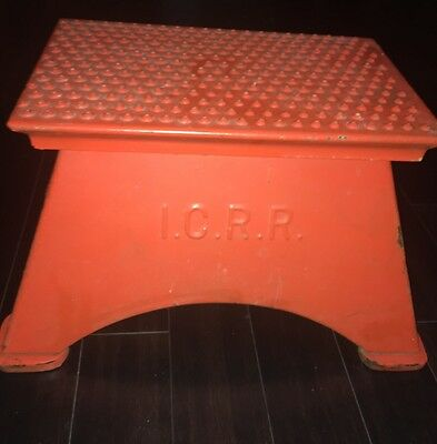 Vintage ICRR Conductor Boarding Step Stool & Vintage ICRR Conductor Boarding Step Stool u2022 $280.00 - PicClick islam-shia.org