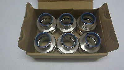 Box of 6 SPL40/M40/M 40mm Straight Flexible Conduit Fitting