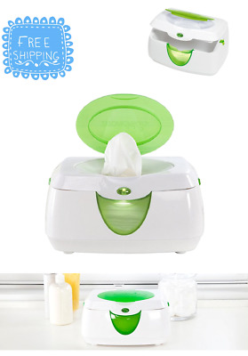 Munchkin Energy Efficient Warm Glow Baby Wipe Warmer With Soft Night Lights