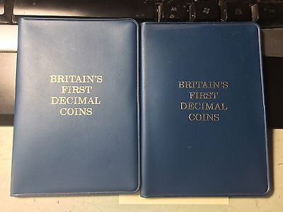 Great Britains First Decimal Coin Sets